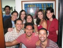 Estudiantes de postgrado en el InaBio