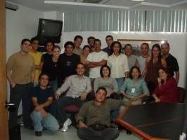 """Nuestro grupo de trabajo en el otrora """"CeBio UCV"""""""