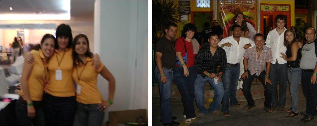 Pasando un rato agradable en el CIMENICS2008