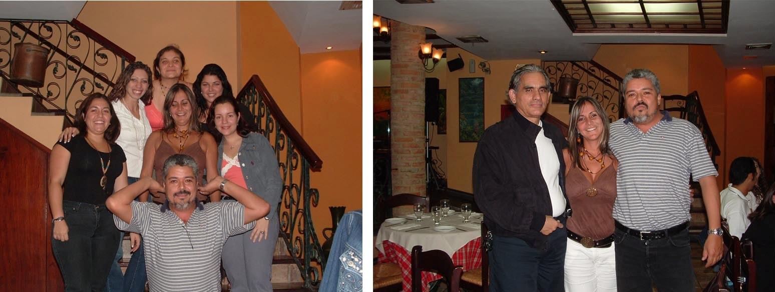 Festejando el día de la secretaria, 2007